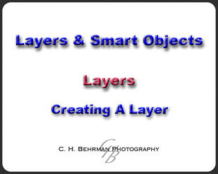 L01 - Create A Layer
